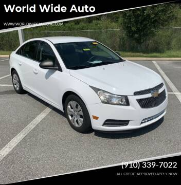 2012 Chevrolet Cruze for sale at World Wide Auto in Fayetteville NC