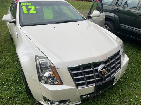 2012 Cadillac CTS for sale at Classified Pre-owned Cars of Marlboro in Marlboro NY