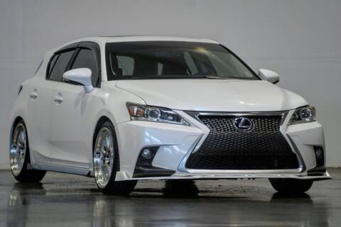 2011 Lexus CT 200h for sale at MS Motors in Portland OR