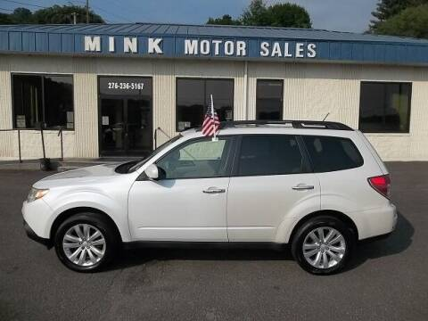 2013 Subaru Forester for sale at MINK MOTOR SALES INC in Galax VA