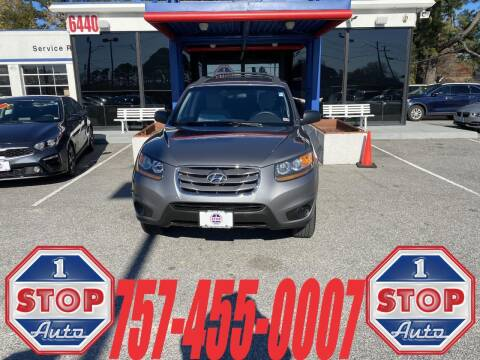 2010 Hyundai Santa Fe for sale at 1 Stop Auto in Norfolk VA