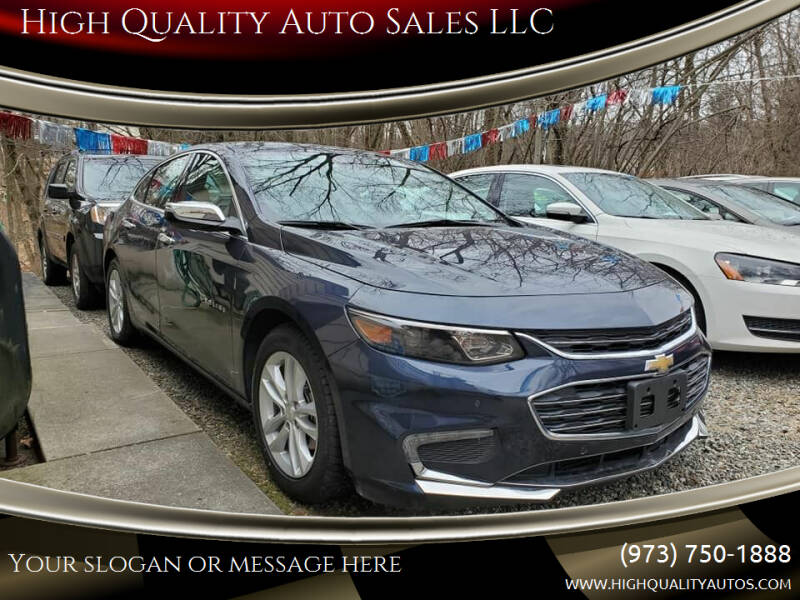 2018 Chevrolet Malibu for sale at High Quality Auto Sales LLC in Bloomingdale NJ