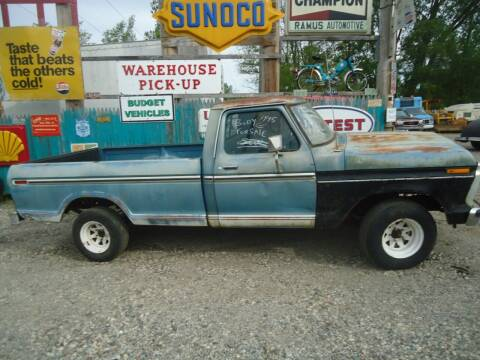 1974 Ford F-150 for sale at Marshall Motors Classics in Jackson Michigan MI