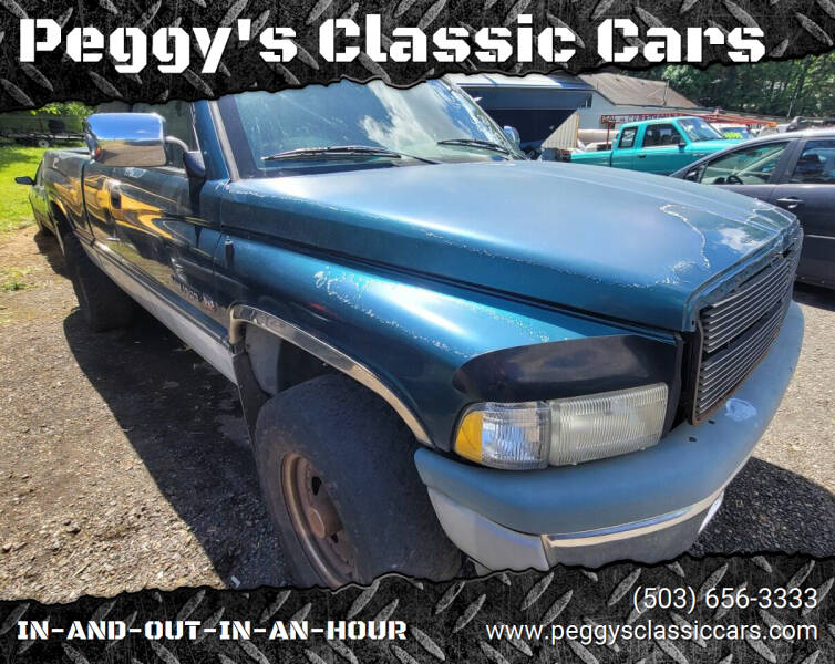 1997 Dodge Ram Pickup 1500 for sale at Peggy's Classic Cars in Oregon City OR