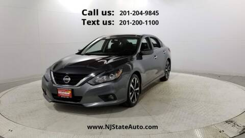 2018 Nissan Altima for sale at NJ State Auto Used Cars in Jersey City NJ