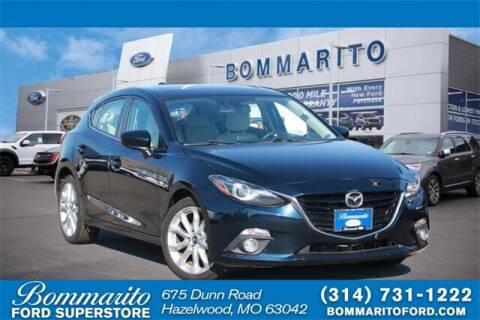 2014 Mazda MAZDA3 for sale at NICK FARACE AT BOMMARITO FORD in Hazelwood MO