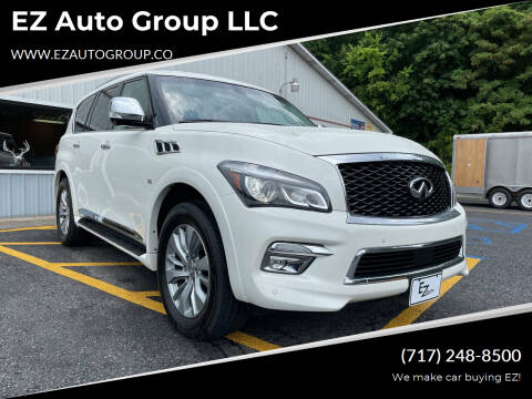 2016 Infiniti QX80 for sale at EZ Auto Group LLC in Lewistown PA