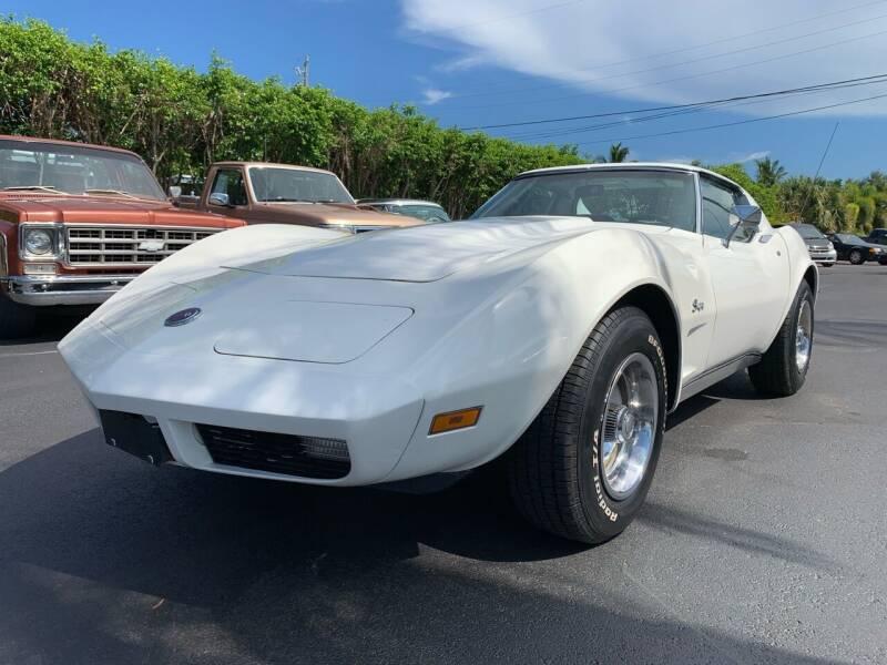 1973 Chevrolet Corvette for sale at American Classics Autotrader LLC in Pompano Beach FL