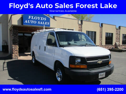 2016 Chevrolet Express Cargo for sale at Floyd's Auto Sales Forest Lake in Forest Lake MN