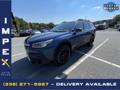 2021 Subaru Outback for sale at Impex Auto Sales in Greensboro NC