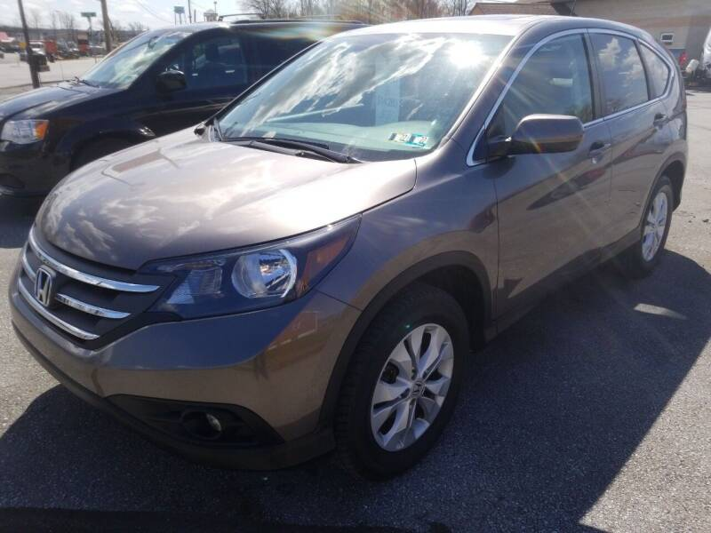 2013 Honda CR-V for sale at Perry Auto Service & Sales in Shoemakersville PA