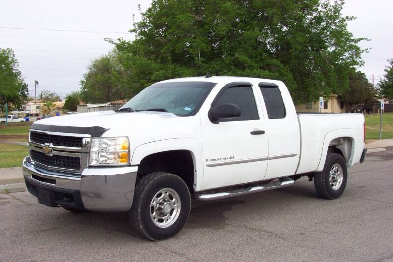 2008 Chevrolet Silverado 2500HD for sale at Park N Sell Express in Las Cruces NM