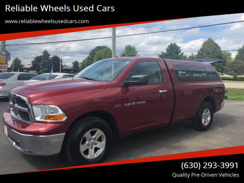 2011 RAM Ram Pickup 1500 for sale at Reliable Wheels Used Cars in West Chicago IL