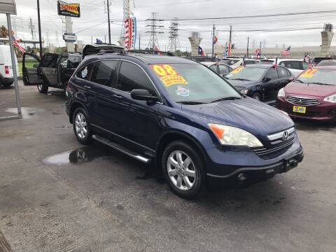 2008 Honda CR-V for sale at Texas 1 Auto Finance in Kemah TX