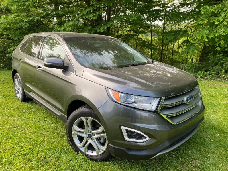 2018 Ford Edge for sale at Kenny Vice Ford Sales Inc - USED Vehicle Inventory in Ladoga IN