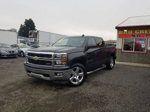 2015 Chevrolet Silverado 1500 for sale at Yaktown Motors in Union Gap WA