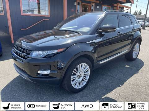 2013 Land Rover Range Rover Evoque for sale at Sabeti Motors in Tacoma WA