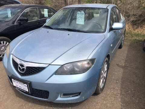 2007 Mazda MAZDA3 for sale at BARNES AUTO SALES in Mandan ND