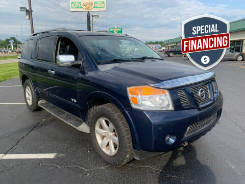 2008 Nissan Armada for sale at Auto World in Carbondale IL