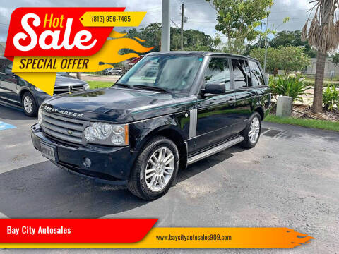 2009 Land Rover Range Rover for sale at Bay City Autosales in Tampa FL