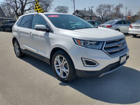 2016 Ford Edge for sale at Triangle Auto Sales in Omaha NE