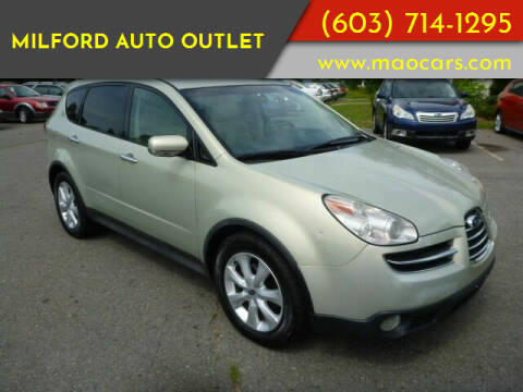 2006 Subaru B9 Tribeca for sale at Milford Auto Outlet in Milford NH