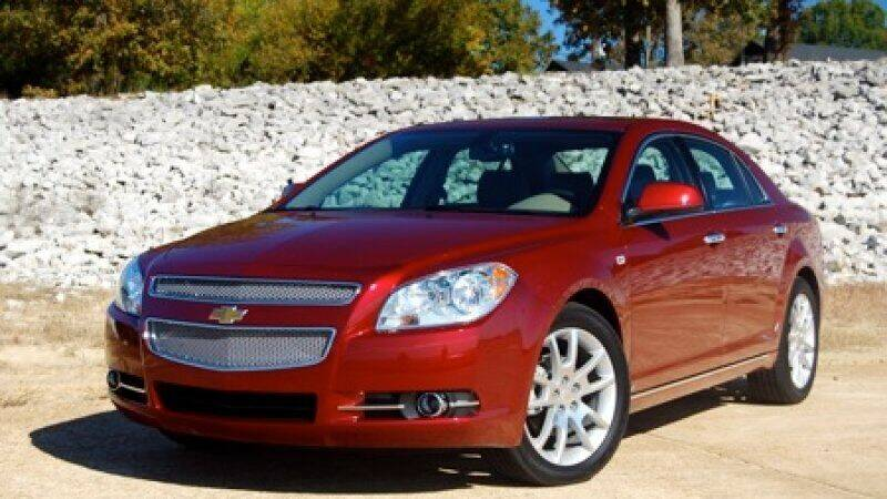 2008 Chevrolet Malibu for sale at STURBRIDGE CAR SERVICE CO in Sturbridge MA