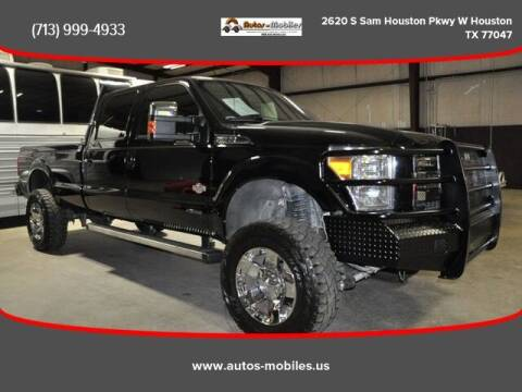 2016 Ford F-350 Super Duty for sale at AUTOS-MOBILES in Houston TX