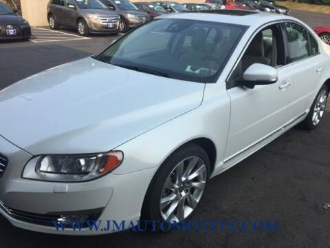 2015 Volvo S80 for sale at J & M Automotive in Naugatuck CT