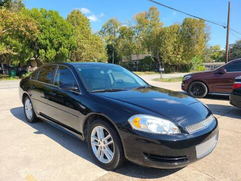 2013 Chevrolet Impala for sale at G&J Car Sales in Houston TX
