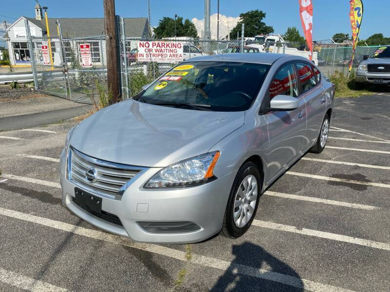 2015 Nissan Sentra for sale at Sandy Lane Auto Sales and Repair in Warwick RI