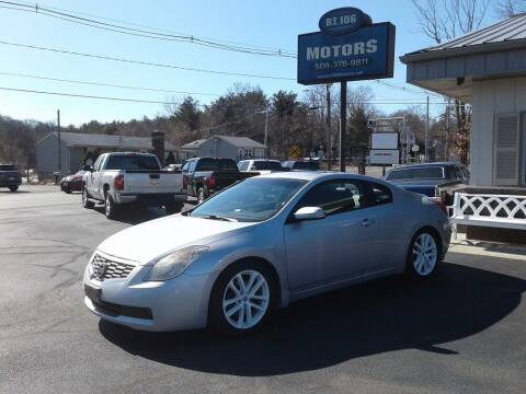 2009 Nissan Altima for sale at Route 106 Motors in East Bridgewater MA