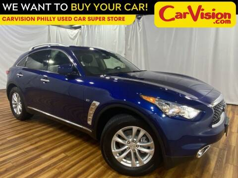2017 Infiniti QX70 for sale at Car Vision Mitsubishi Norristown - Car Vision Philly Used Car SuperStore in Philadelphia PA