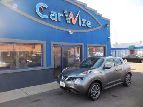 2017 Nissan JUKE for sale at Carwize in Detroit MI