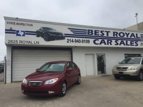 2010 Hyundai Elantra for sale at Best Royal Car Sales in Dallas TX
