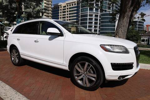 2012 Audi Q7 for sale at Choice Auto in Fort Lauderdale FL
