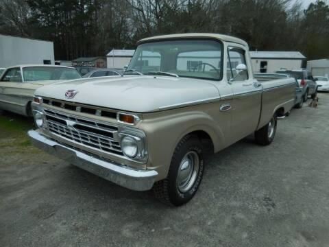 1966 Ford F-100 Pickup for sale at Classic Cars of South Carolina in Gray Court SC