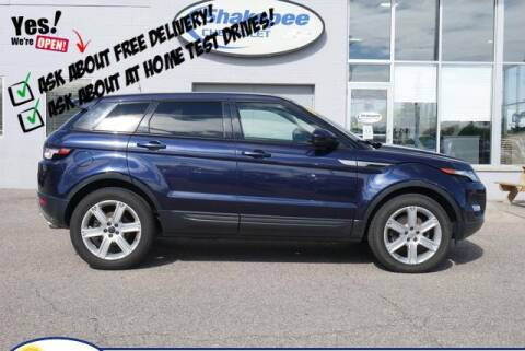 2014 Land Rover Range Rover Evoque for sale at SHAKOPEE CHEVROLET in Shakopee MN