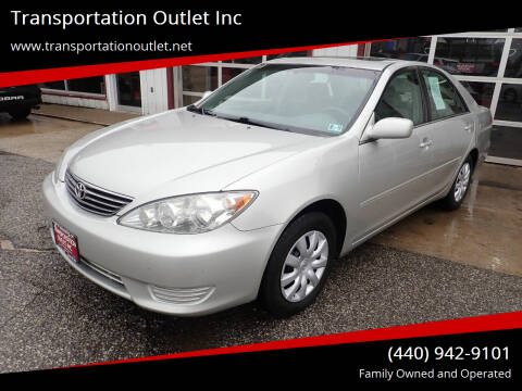 2005 Toyota Camry for sale at Transportation Outlet Inc in Eastlake OH