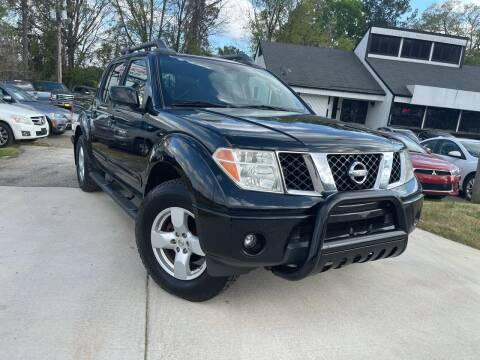 2007 Nissan Frontier for sale at Alpha Car Land LLC in Snellville GA