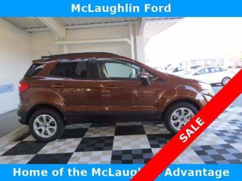 2020 Ford EcoSport for sale at McLaughlin Ford in Sumter SC
