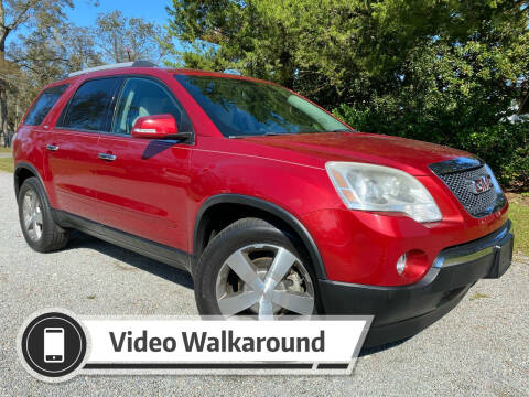 2012 GMC Acadia for sale at Byron Thomas Auto Sales, Inc. in Scotland Neck NC