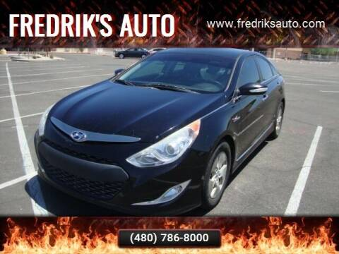 2011 Hyundai Sonata Hybrid for sale at FREDRIK'S AUTO in Mesa AZ