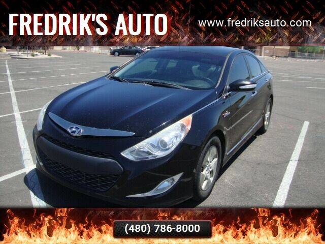 2011 Hyundai Sonata Hybrid for sale at FREDRIK'S AUTO in Mesa AZ