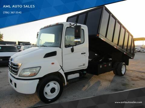 2008 Hino 185 for sale at AML AUTO SALES - Dump Trucks in Opa-Locka FL