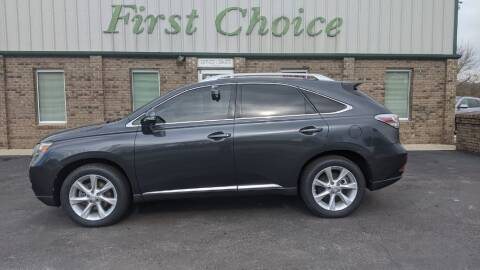 2010 Lexus RX 350 for sale at First Choice Auto in Greenville SC