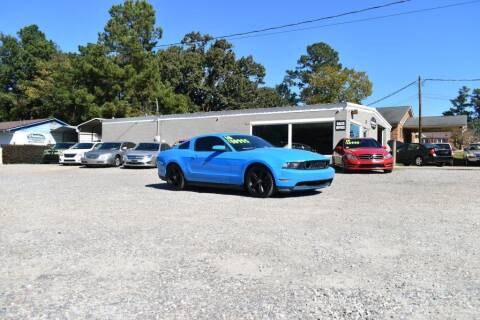 2010 Ford Mustang for sale at Barrett Auto Sales in North Augusta SC