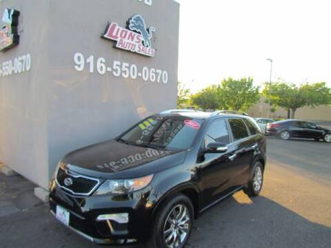 2011 Kia Sorento for sale at LIONS AUTO SALES in Sacramento CA