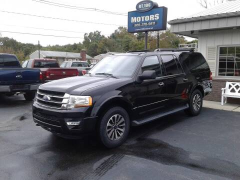 2017 Ford Expedition EL for sale at Route 106 Motors in East Bridgewater MA