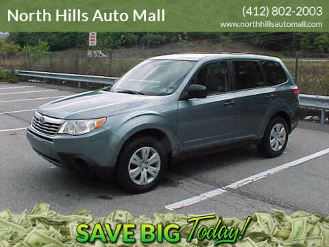 2009 Subaru Forester for sale at North Hills Auto Mall in Pittsburgh PA
